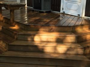 deck washing