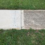 pressure wash sidewalk